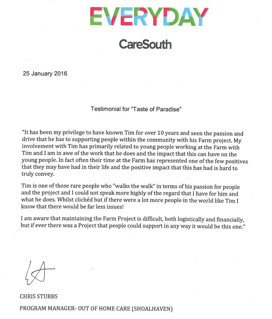 CareSouth testimonial