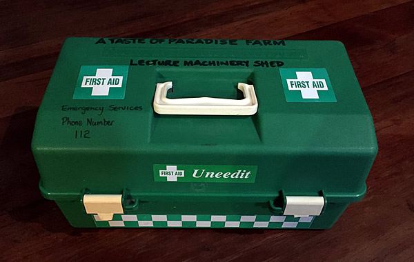 New first aid kit